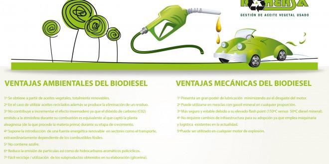 En pocos años el 20% de lo que repostemos será biodiesel